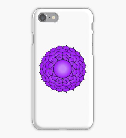 The Crown Chakra iPhone Case/Skin