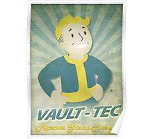 Vault Boy Vintage Poster Poster