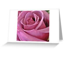 mauve glory Greeting Card
