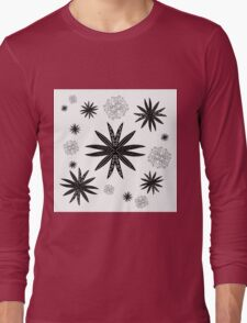 Pointy Flowers Long Sleeve T-Shirt