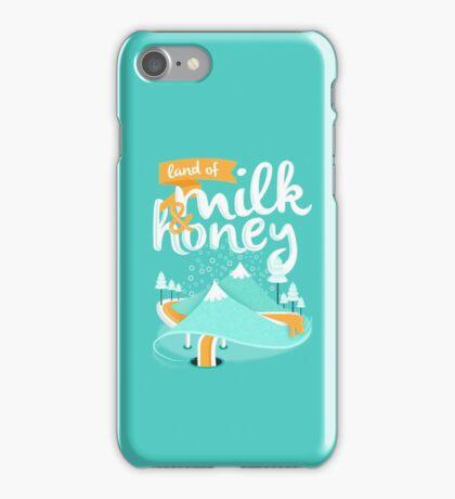 Land of Milk and Honey iPhone Case/Skin