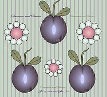Damsons and Daisies by Helena Wilsen - Saunders