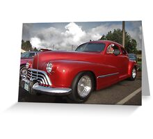 Car Show, Lincoln City, Oregon Greeting Card
