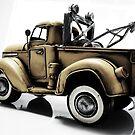yellow garage truck II by ARTistCyberello