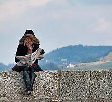 Local News Reader by Susie Peek
