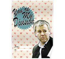 Lestrade Valentine's Day Card Poster