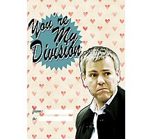 Lestrade Valentine's Day Card Photographic Print