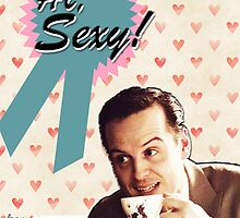 Moriarty Valentine's Day Card by thescudders