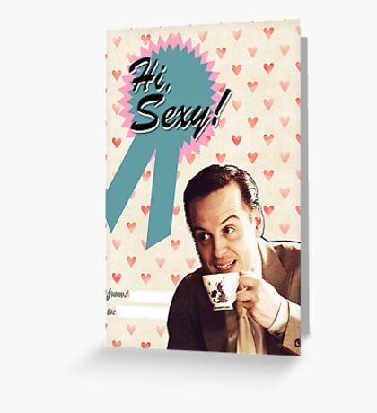 Moriarty Valentine's Day Card Greeting Card