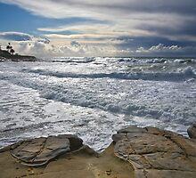 Incoming Storm, La Jolla, California by Robert Whiteman