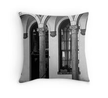 09-113 ~ Shadows in the arches Throw Pillow