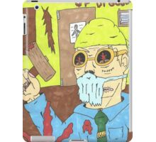 terror of Dr goresome iPad Case/Skin
