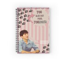 My Teenwolfed Valentine[You Make Me Feel Younger] Spiral Notebook