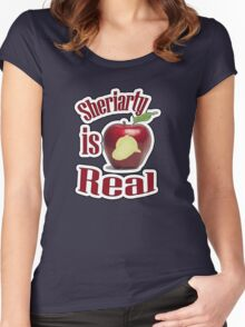 Sheriarty IS real Women's Fitted Scoop T-Shirt