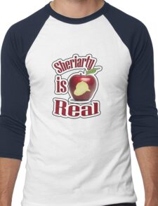 Sheriarty IS real Men's Baseball ¾ T-Shirt