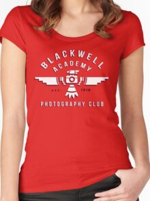 Life Is Strange - Blackwell Photography Club Women's Fitted Scoop T-Shirt