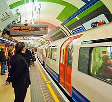 Going Underground: London Piccadily Circus Tube Station by DonDavisUK