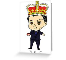 Moriarty Chibi Greeting Card