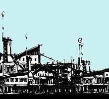 Shipyards by Wayne Grivell