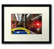 London Passenger Framed Print