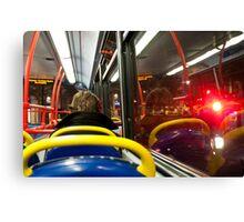 London Passenger Canvas Print