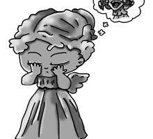 Weeping Angel Chibi by Zefkiel