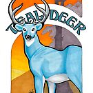 Teal Deer by Asia Wiseley