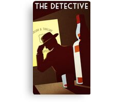The Detective Canvas Print