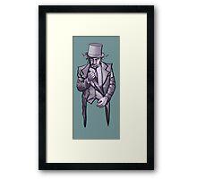 Tophat Framed Print
