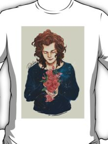 A Boy and Roses T-Shirt
