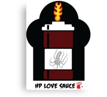HP Love Sauce - BROWN Canvas Print