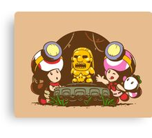 Indiana Toads Canvas Print