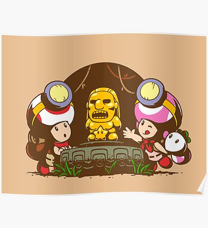Indiana Toads Poster