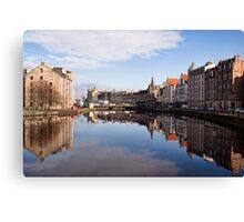 The Water Of Leith Canvas Print