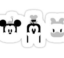 Five Fantastic Friends Sticker