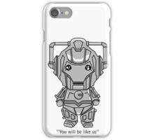 Cyberman Chibi iPhone Case/Skin