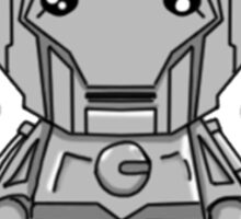 Cyberman Chibi Sticker