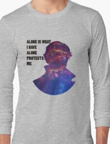 Alone Protects Me Long Sleeve T-Shirt