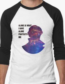 Alone Protects Me Men's Baseball ¾ T-Shirt