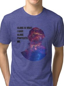 Alone Protects Me Tri-blend T-Shirt