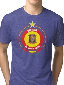 World Cup Football 8/8 - Team Espana Tri-blend T-Shirt