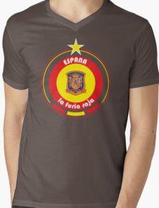 World Cup Football 8/8 - Team Espana Mens V-Neck T-Shirt