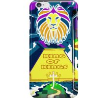 KING OF KINGS iPhone Case/Skin