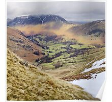 Patterdale from Hartsop Above How Poster