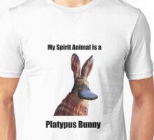 My Spirit Animal Is A Platypus Bunny Unisex T-Shirt
