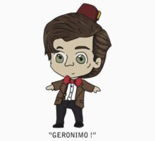 Eleventh  Doctor Kids Tee