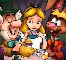 Tea Time by Randy van der Vlag