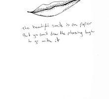 Smile on Paper  by Jocelyn Paul
