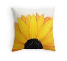 Shine Bright Sunshine Yellow Wild Sunflower Throw Pillow