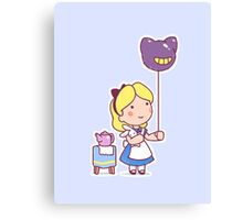 Little Alice Canvas Print